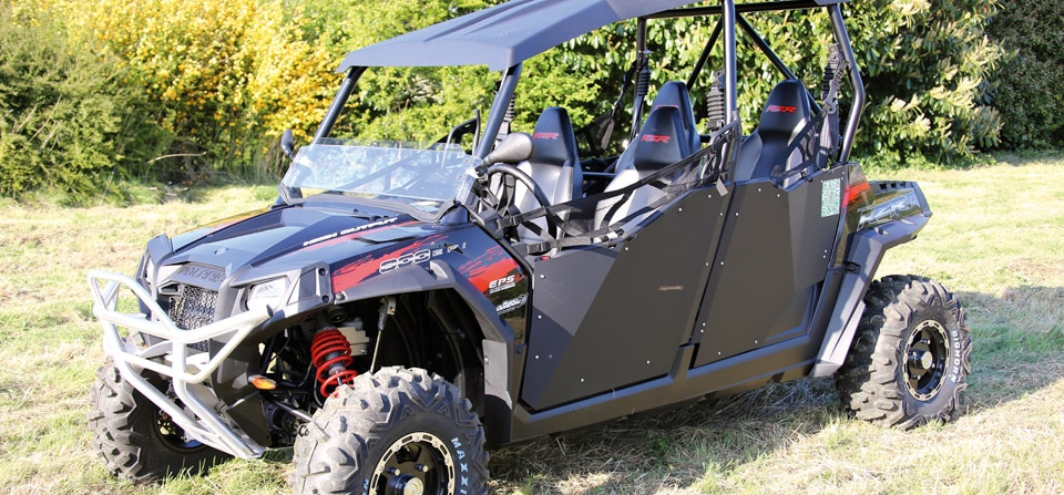 Buggy SSV Polaris RZR 800 XP4