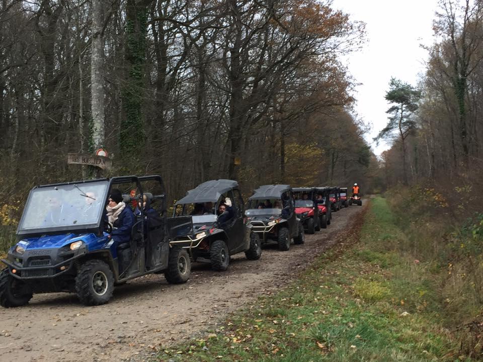 Randonnées Région de Presles-en-Brie 77 en Buggy