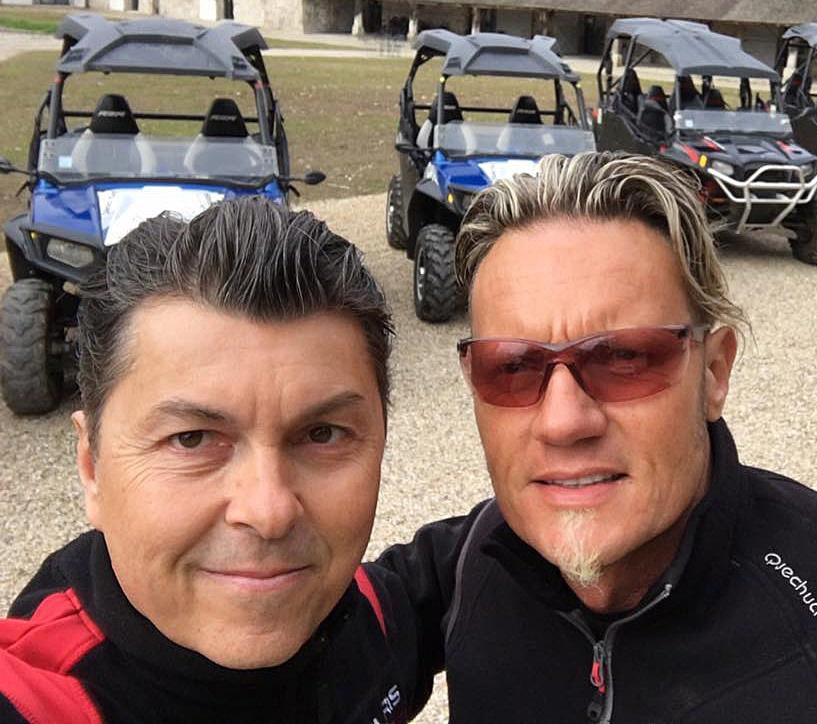Pierre et Laurent de Liberty's Off Road